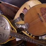 A mess of mandolins.