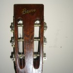 Bruno Parlor Guitar headstock