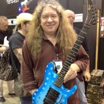 Buddy Blaze with the Blaze Shredder VC-1 used by Vivian Campbell with Whitesnake in the '80s.