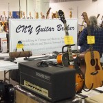 CNY Guitar Broker booth.