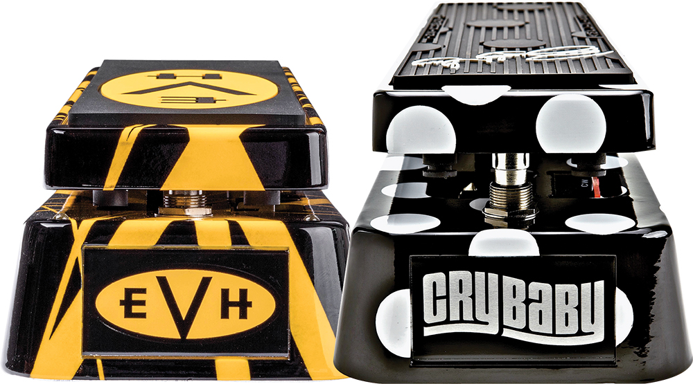 Jim Dunlop BG95 and EVH95 Signature Cry Baby Wahs | Vintage