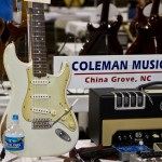 Coleman Music booth