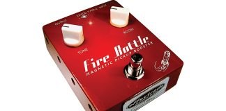 Effectrode's Fire Bottle Magnetic Pickup Booster