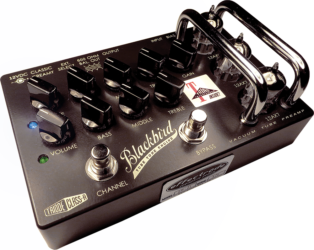 Effectrode Blackbird Vacuum Tube Preamp   Vintage Guitar