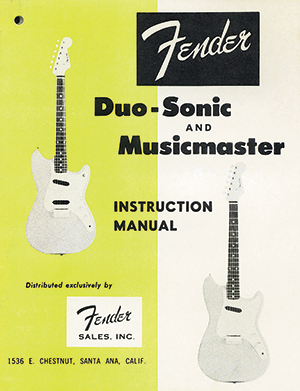 Fender's Musicmaster and Duo‑Sonic | Vintage Guitar® magazine on