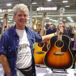 Gary Burnette, promoter of the Great American Guitar Show.