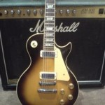 Gibson Les Paul Deluxe 1980 & a 1985 Marshall JCM 800
