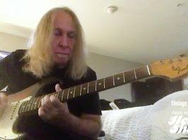 Greg Martin's '65 Fender Stratocaster Vintage Guitar magazine Presents Greg Martin's Head Shop