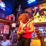 J.D. Simo with the Don Kelley band at Roberts