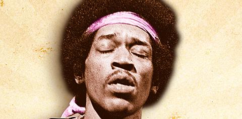 Vintage Guitar magazine Jimi Hendrix