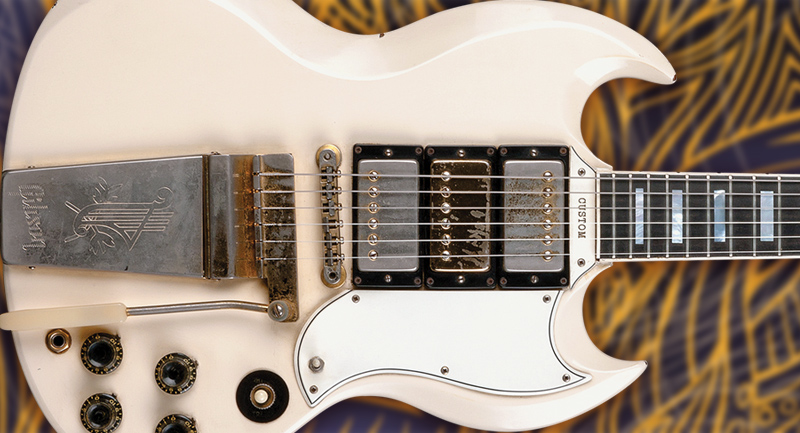 Keith Richards 1963 Gibson Sg Custom Vintage Guitar