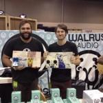 Kelly Arndt and Brady Smith of Walrus Audio.