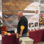 Martin Six String Customs booth.