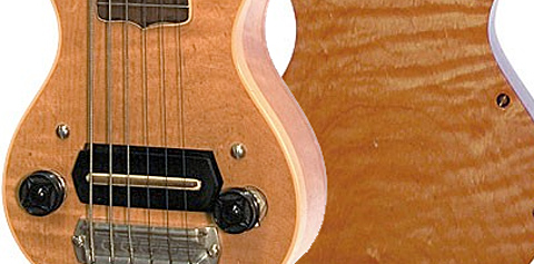 Alvino Rey's 1936 Gibson mini guitar Vintage Guitar magazine Home Main Big