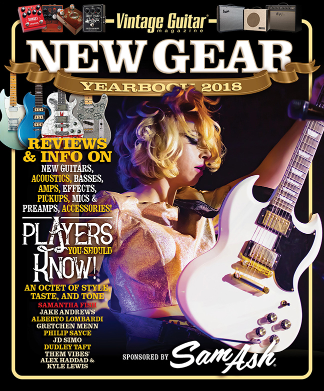 Reviews and info on new guitars, acoustics, basses, amps, effects, pickups, mics & preamps, accessories. PLUS, players you should know! Read Now →