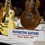 Rivington Guitars booth