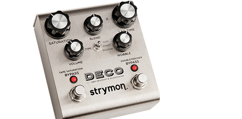 Strymon's Deco Tape Saturation and Doubletracker