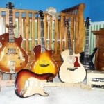 Cool Guitars in a New Baby's Room