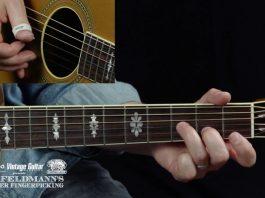 Tom Feldmann Beginner Fingerpicking - Lesson 8 Vintage Guitar is teaming with Collings Guitars and Stefan Grossman