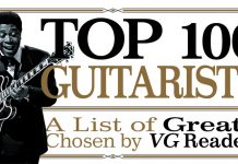 Vintage Guitar magazine Top 100 guitarists B.B. King: Heinrich Klaffs/Wikimedia Commons.