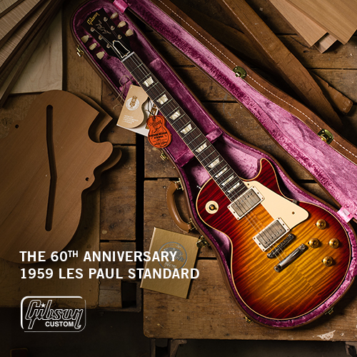 The 60th Anniversary 1959 Les Paul Standard