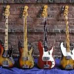 Vintage Fender Basses