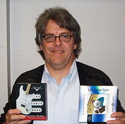 Tim McKenna and his Hall Of Fame Prize Pack